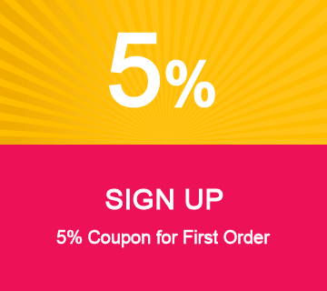 Get A 5% Coupon Free Registration