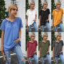 Solid Color Lace One-shoulder Hooded Casual Short-sleeved T-shirt NSAL2880