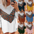 women's long-sleeved printed sweater NSKX5964
