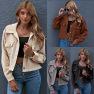 Hot Sale Autumn/Winter New Fashion Corduroy Shirt Jacket  NSAL1937