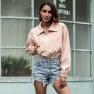 Lapel Slim-fit Women's Jacket  NSAL2131