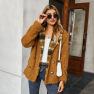 Fashion Jacket Sweater Velvet Top NSKA2150