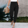 New Fashion Cross Slit Cropped Pants  NSSI2397