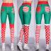 stitching Christmas printing sports pants  NSLX9717