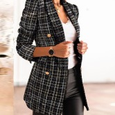 Autumn And Winter Long-sleeved Double-breasted Suit  NSYD15129