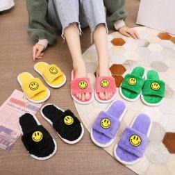 Plus Velvet Non-slip Soft Bottom Slippers NSPE21978