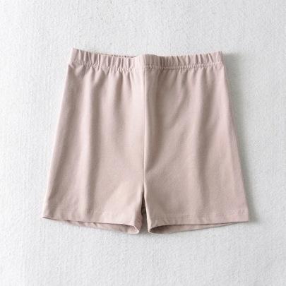 Elastic Waist Sports Shorts NSHS24231