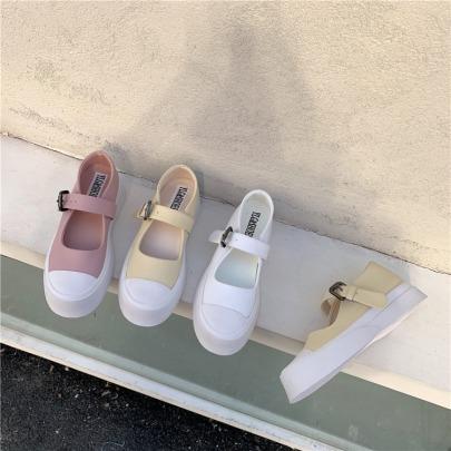 Casual All-match Platform Single Shoes NSHU24660