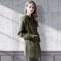 casual hooded waist windbreaker cotton jacket NSJR17168