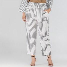 Cool Striped Large Size Casual Pants  NSJR17176