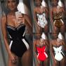 New One-piece Swimsuit Ladies Underwire One-piece Swimwear Hot Selling  NSDA132