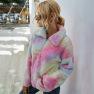 Women's Tie-dye 2020 Autumn And Winter New Thickened Plush Sweater Women NSKA257