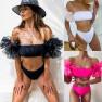 Hot Sale Bikini Swimwear Tube Top Swimsuit For Women NSDA1022