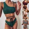 New Bikini Hot Style Bandage Swimsuit Ladies Split Swimwear NSDA1025