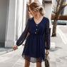 Fashion Summer Chiffon Dress For Women NSKA1029