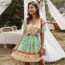 New Fashion Summer Sexy Print Dress Wholesale NSKA1037