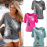 Strapless Sexy Printed Bottoming Shirt T-shirt Top  NSYF1101