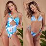 One-piece Swimsuit Sexy Hollow Little Love One-piece Bikini Bikini Ladies Swimwear NSDA1194