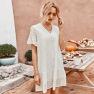 Summer Hollow Air Quality Elegant Skirt  NSKA1338