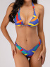Hot Style Female Split Swimsuit Printed Sexy Swimsuit NSZO1358