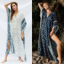 V-neck Muslim Robe Dress Wholesale Vacation Casual Skirt NSDF1513