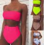 High Waist Printed Swimsuit NSDA1686