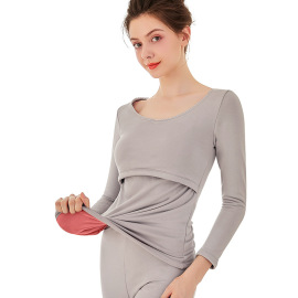 Pregnant Plus Cashmere Nursing Clothing  NSXY32479