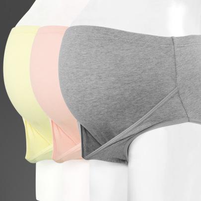 Cotton Large Size High Waist Belly Support Pregnant Underwear NSXY32486