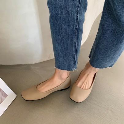 Sexy Fashion Flat Shoes NSHU33061