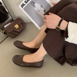Fashion Shallow Flat Soft Shoes NSHU33072