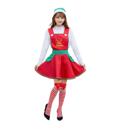 Christmas Cosplay Cute Maid Costume Suit Nihaostyles Wholesale Christmas Costumes NSPIS83073