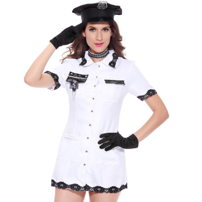 Policewoman Costume Lingerie Nihaostyles Clothing Wholesale NSFCY83418