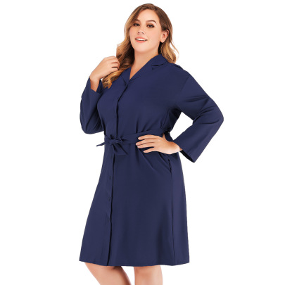 Plus Size Suit Collar Single-breasted Jacket Nihaostyles Clothing Wholesale NSJR84251
