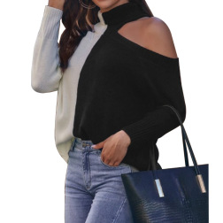turtleneck solid color hedging sweater nihaostyles clothing wholesale NSGYX84293