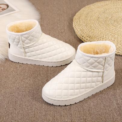 Flat And Velvet Snow Boots Nihaostyles Clothing Wholesale NSYUS84474