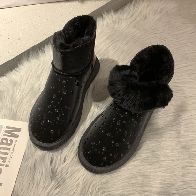 Cute Flat-bottomed Snow Boots Nihaostyles Clothing Wholesale NSYUS84473