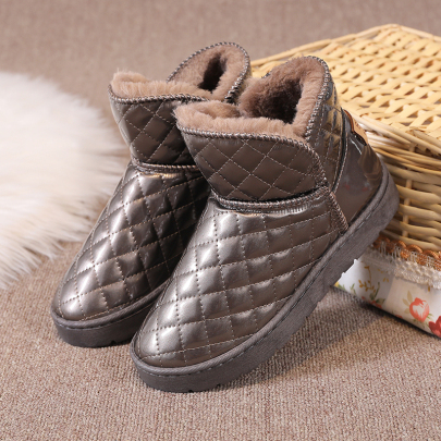 Solid Color Flat Snow Boots Nihaostyles Clothing Wholesale NSYUS84471