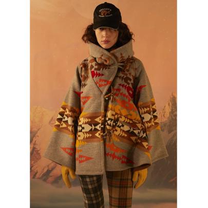 Long-sleeved Hooded Printed Coat Nihaostyles Clothing Wholesale NSYIS85463