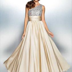 oblique shoulder slim banquet dress nihaostyles clothing wholesale NSYIS85484