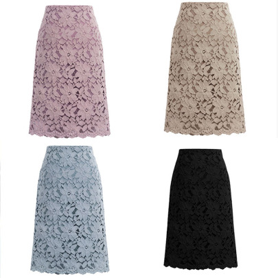 Lace Stitching Package Hip Skirt Nihaostyles Wholesale Clothing NSXIA85050