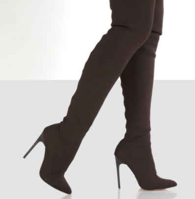 Pointed Over The Knee Stiletto Boots Nihaostyles Clothing Wholesale NSYUS85058