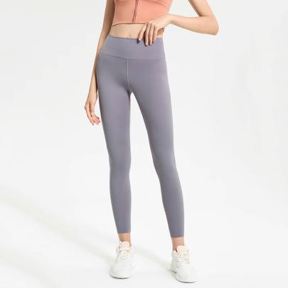 High Stretch High Waist Tight Yoga Leggings Nihaostyles Clothing Wholesale NSJLF85155