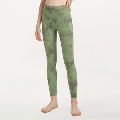 High Waist Hips Tight Elastic Yoga Pants Nihaostyles Clothing Wholesale NSJLF85166