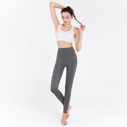 High Waist High Stretch Yoga Pants Nihaostyles Clothing Wholesale NSJLF85174