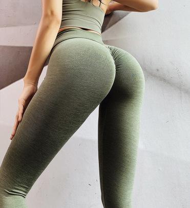 High Waist Tummy Tight Hip-lifting High-elastic Receiving Waist  Fitness Pants Nihaostyles Wholesale Clothing NSMYY85195