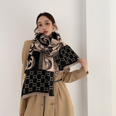 Thickened Long Warm Shawl Scarf Nihaostyles Clothing Wholesale NSCM85290