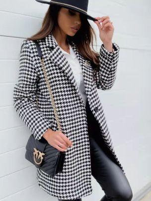 Single-button Slim Fit Blazer Nihaostyles Clothing Wholesale NSOUY85469