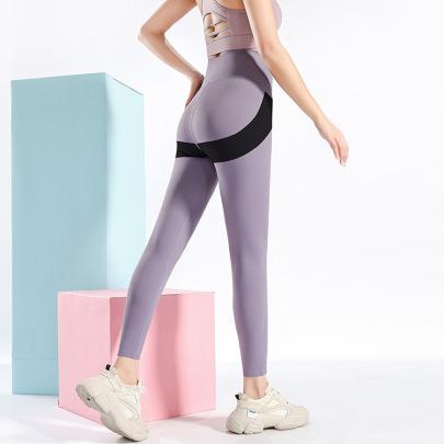 High Stretch Hip-lifting Waist Yoga Legging Nihaostyles Clothing Wholesale NSXIN85456