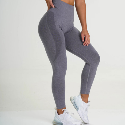 High Stretch Hip-lifting Knitted Hip Yoga Pants Nihaostyles Clothing Wholesale NSXER85187