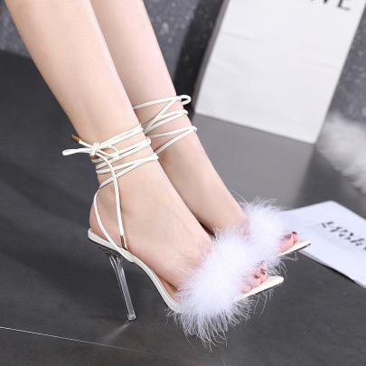 Women's High-heel Pointed Sandals Nihaostyles Wholesale Clothing NSSO81721